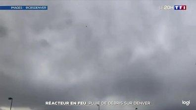 Réacteur d'un Boeing 777 en feu : pluie de débris sur Denver