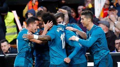 Liga : Le Real remporte le choc face à Valence