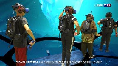 Réalité virtuelle : les parcs d'attractions ne peuvent plus s'en passer
