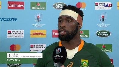 """Siya Kolisi, le capitaine de l'Afrique du Sud : """"C'est un moment fantastique !"""""""