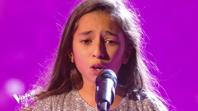 "The Voice Kids 2020 - Demi-Finale : Rébecca chante ""You raise me up"" de Josh Groban (Team Patrick Fiori)"