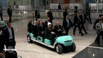 Recep Tayyip Erdogan et l'erreur de la voiturette de golf