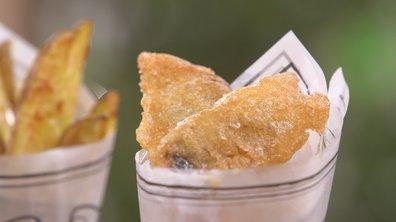 Fish and chips de maquereau