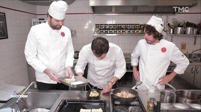 La recette des lasagnes à la paëlla (Eric et Quentin)