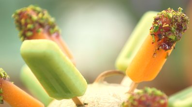 Melon et concombre en esquimaux