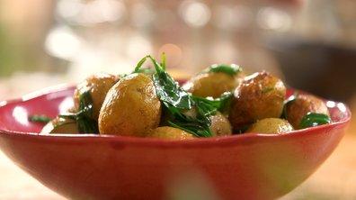 Pommes de terre primeurs et végétaux marins