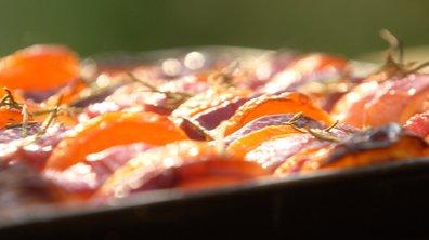 Tian abricots pêches