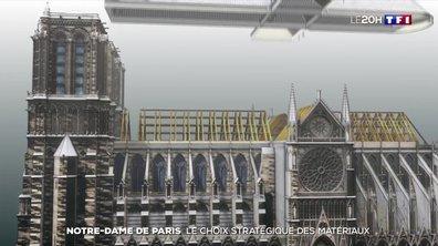 Reconstruction de Notre-Dame : le choix stratégique des matériaux