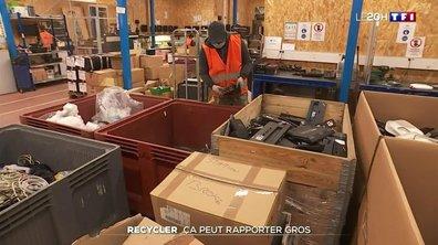 Recyclage : les vieux appareils électroniques peuvent rapporter gros