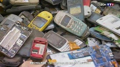 Recyclage : les vieux smartphones valent de l'or