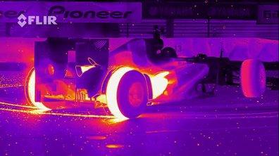 Insolite : des donuts en F1 en infrarouge