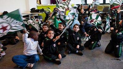 Une école de supporter en Seine-Saint-Denis !