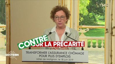 Réforme du chômage : Muriel Pénicaud n'avait qu'UN job