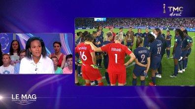 """Renard : """"Oui, je vais rester une joueuse de l'équipe de France"""""""