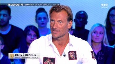 """[EXCLU Téléfoot 19/11] - Coupe du monde 2018 / Hervé Renard : """"Quand on a cette passion, on veut participer à ce genre de compétition"""""""