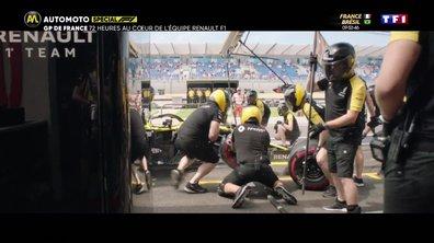 EXCLU Automoto : 72h au coeur de l'équipe Renault F1 Team au GP de France