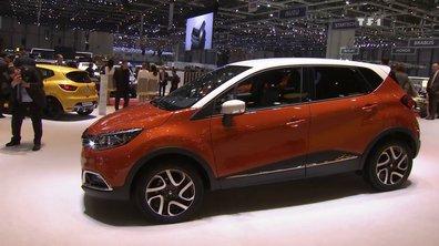 Le Renault Captur au Salon de Genève 2013
