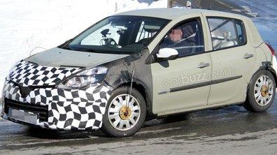 Renault Clio 2012 : son nouveau visage en tests