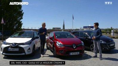 Renault Clio, Peugeot 208, Toyota Yaris hybride: quelle est la meilleure citadine?