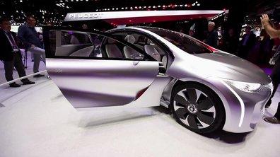 Renault Eolab Concept, la voiture du futur -  Mondial de l'Automobile 2014