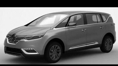 Futur Renault Espace 2014 : les premières images scoop du monospace-crossover