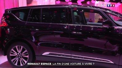 Renault Espace : la fin d'une voiture à vivre ?