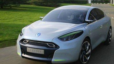 Présentation de la Renault Fluence Z.E. Concept
