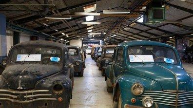 Des anciennes Renault retrouvées dans une grange danoise aux enchères