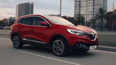 Renault Kadjar 2015 : présentation officielle en mouvement