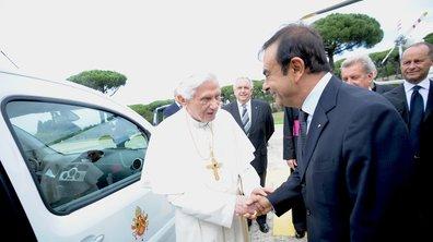 Le Pape roule en Renault électrique !