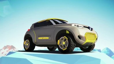 Renault Kwid Conceot 2014 : présentation officielle