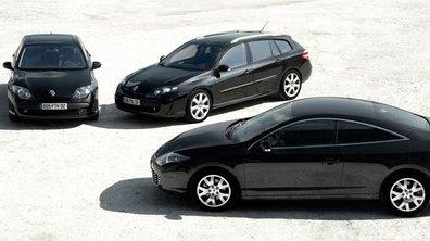 Renault Laguna Black Edition : au tour du coupé !