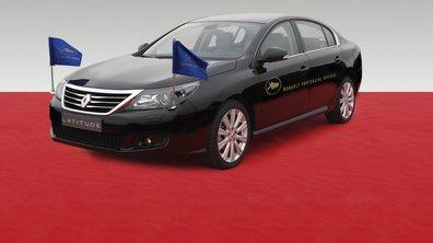 Renault Latitude voiture officielle du Festival de Cannes 2011