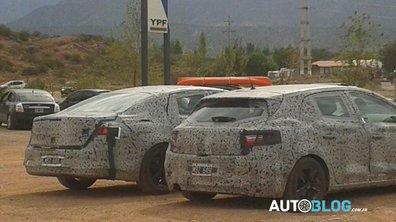 Les futures Renault Mégane et Laguna surprises en Argentine