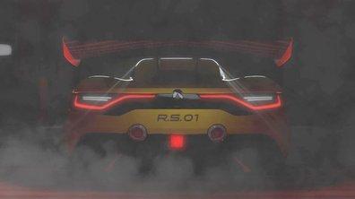 Renault Sport R.S. 01 2015 : teaser officiel