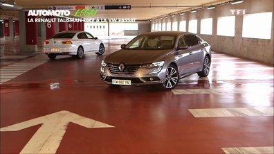 Essai Vidéo : La Renault Talisman face à la Volkswagen Passat