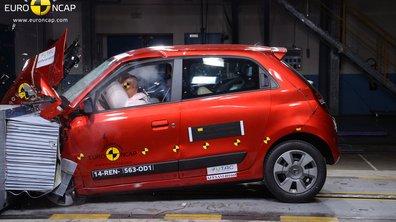 Crash-test EuroNCAP 2014 : la Renault Twingo obtient 4 étoiles sur 5