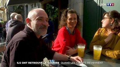 Réouverture des terrasses : ces restaurateurs qui retrouvent le sourire