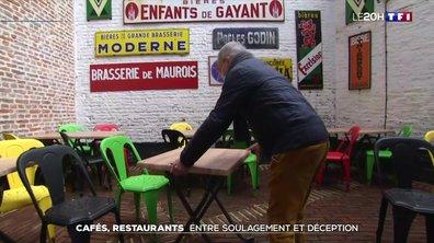 Réouverture en deux temps : les restaurateurs partagés entre soulagement et déception