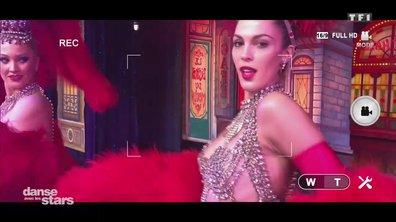 Répétitions : Iris Mittenaere, plus sexy que jamais au Moulin Rouge