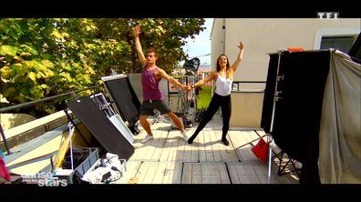 Répétitions : entre deux tournages, Clément Rémiens répète sa danse