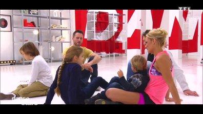 Répétitions : Elodie Gossuin danse comme une princesse