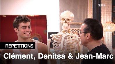 Répétitions - Alerte un squelette en répétition. mais pourquoi donc ? Clément Rémiens jusqu'à l'Os