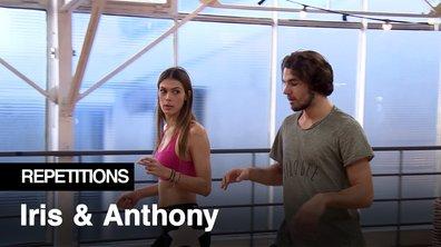 Répétitions - « T'as cru que j'allais danser comme Michaël Jackson » Iris Mittenaere et Anthony Colette