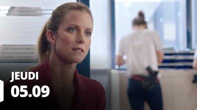 Demain nous appartient du 5 septembre 2019 - Episode 545