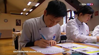 Reportage dans l'école française qui forme les futurs chefs de la gastronomie japonaise
