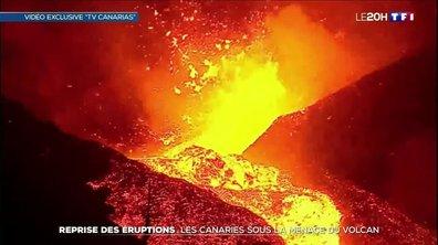 Reprise des éruptions : les Canaries sous la menace du volcan