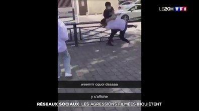 Réseaux sociaux : les agressions filmées inquiètent