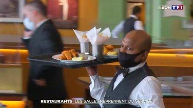 Restaurants : comment s'est passé ce premier jour de réouverture des salles ?