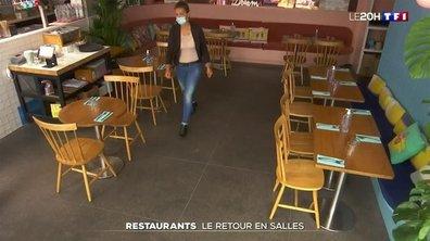 Restaurants : le retour en salles
